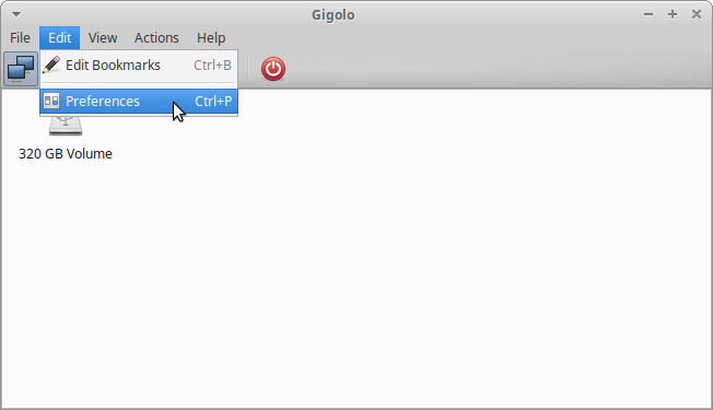Xubuntu, Gigolo opens FTP connections in Firefox instead of Thunar